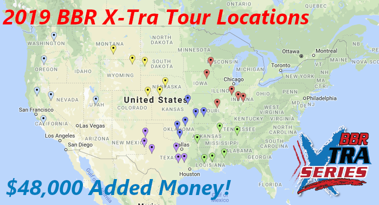 2019 BBR X-Tra Series Map